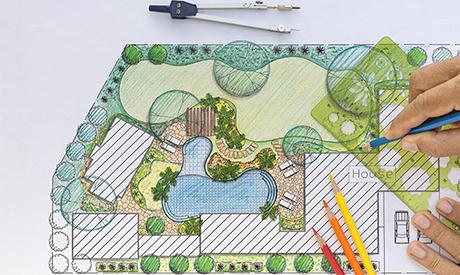 Architettura d 39 esterni realizzazione giardini roma for Architettura giardini