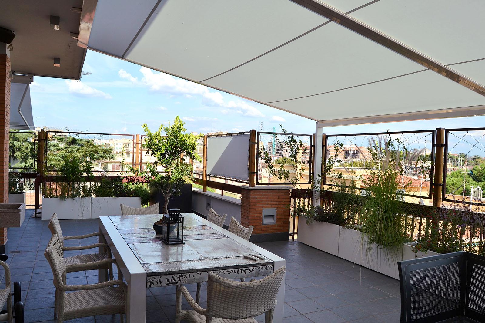 Architettura e arredamento d 39 esterni openspaceroma - Terrazzi di design ...